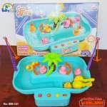 Bộ đồ chơi câu vịt cao cấp có nhạc cho bé 889-141