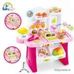 Đồ chơi xe đẩy và quầy bán kem cao cấp 668-41