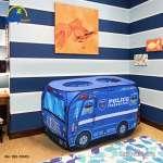 Nhà bóng cho bé mô hình xe cảnh sát 995-7067B