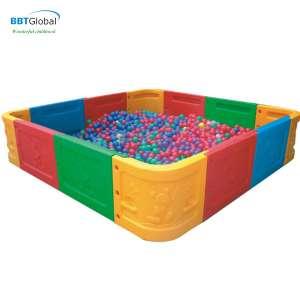 Quây bóng nhựa/Bể chơi hạt muồng vuông cỡ lớn BG9303