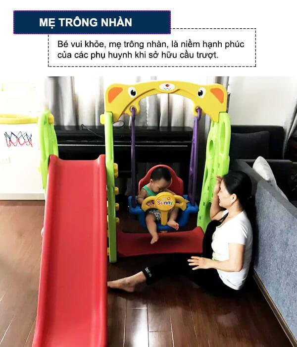 Đồ chơi cầu trượt cho bé CHD101 - Mẹ trông nhàn