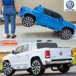 Ô tô điện bản quyền Volkswagen Amarok xanh cao cấp