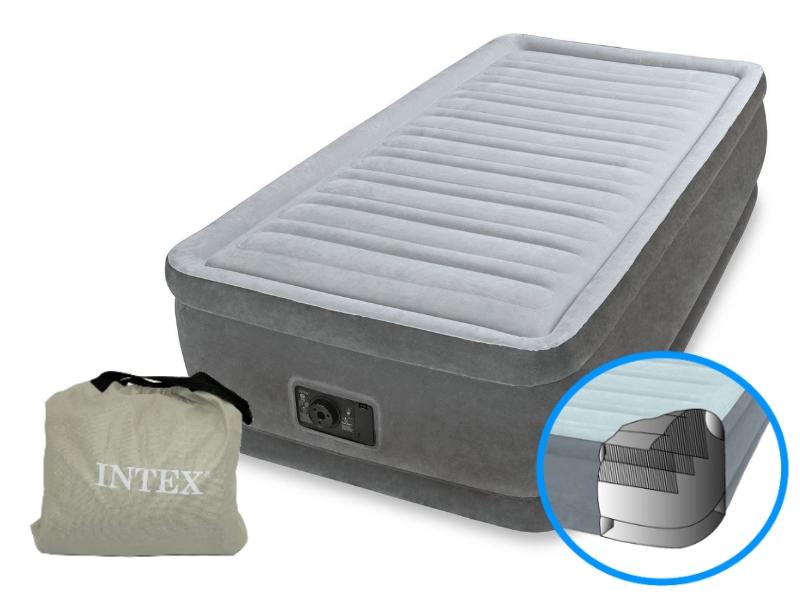Giường hơi đơn tự phồng cao cấp Intex 64412_1