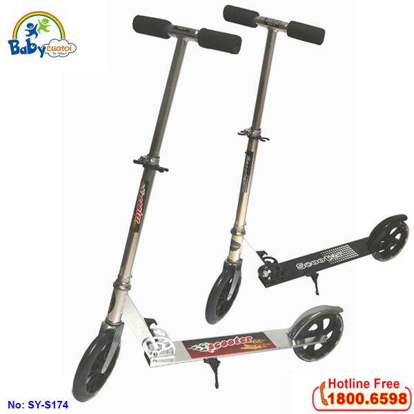 Xe Scooter đạp vận động cao cấp đa năng SY-S174