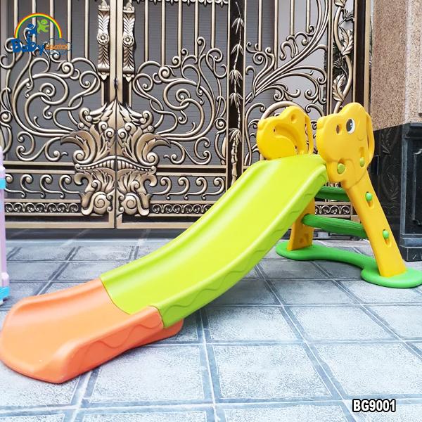 Cầu trượt chú chó Puppy 1.7m có ném bóng rổ BG9001