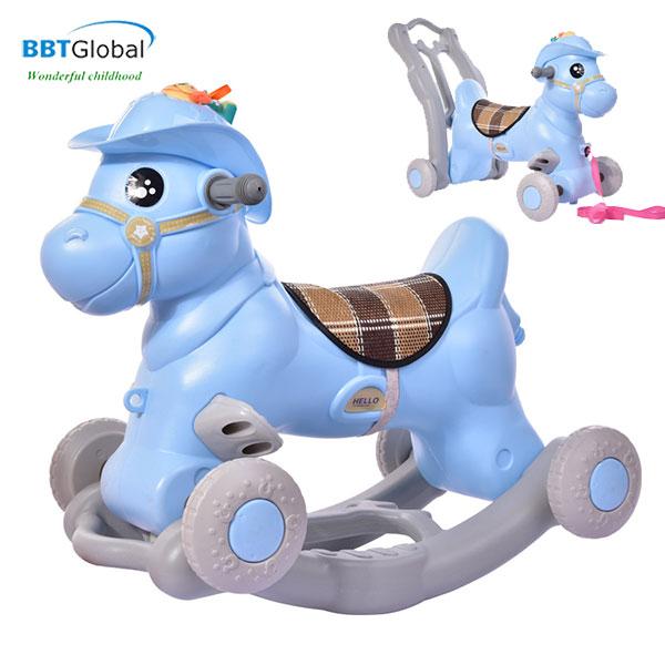Ngựa chòi chân BBT Global 3 trong 1 RK-531
