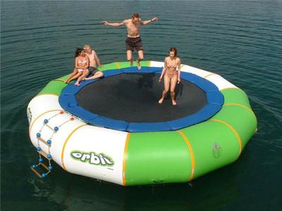 Trò chơi gameshow trampoline trên nước DHVC-2019