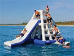 Trò chơi gameshow teambuiding trên mặt nước DHVC-2020