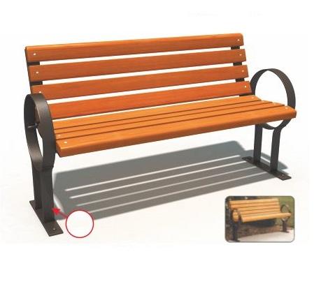 Ghế công viên nhập khẩu BH14706
