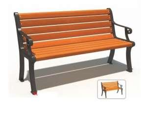 Ghế công viên nhập khẩu BH14801