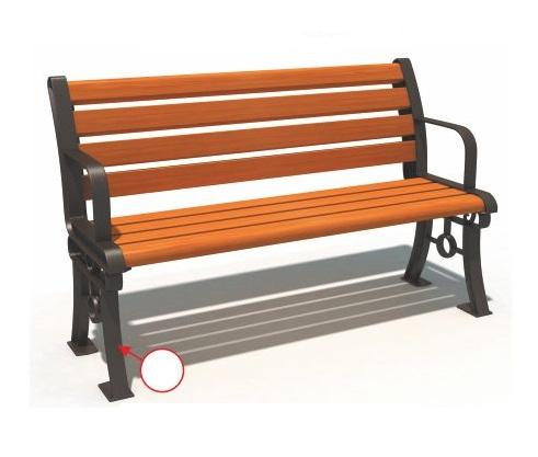 Ghế công viên nhập khẩu BH14805