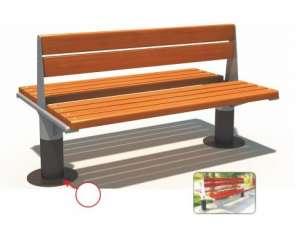 Ghế công viên nhập khẩu BH14901