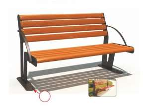 Ghế công viên nhập khẩu BH14903