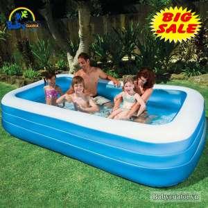 Bể bơi phao INTEX chữ nhật 58484