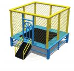 Trampoline có bảo vệ kích thước 250*250cm KT212-250