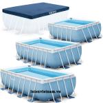 Bể bơi khung kim loại chịu lực 3m INTEX 28314