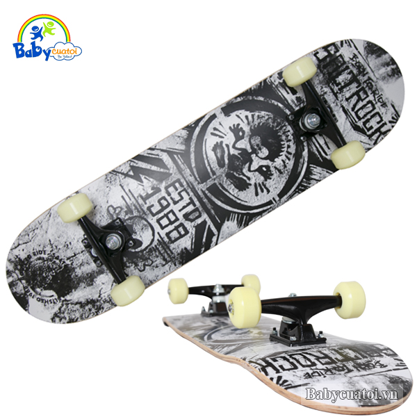 Ván trượt skateboard cao cấp destroyer 3108GD-1