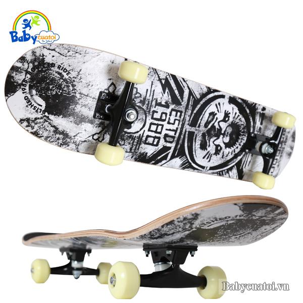 Ván trượt skateboard cao cấp destroyer 3108GD-2