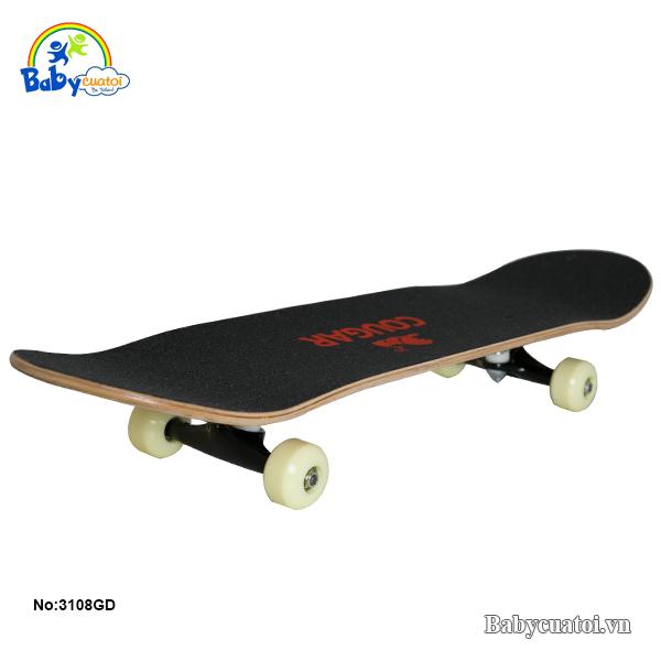 van truot skateboard chinh hang cougar cao cap