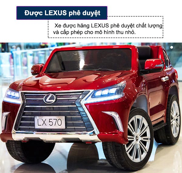 Xe ô tô điện trẻ em Lexus LX570
