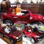 Ô tô điện trẻ emFORD RANGER bản quyền đỏ mận phun sơn FORD-DCC