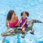 Phao bơi cá sấu to có 2 tay cầm INTEX 57551