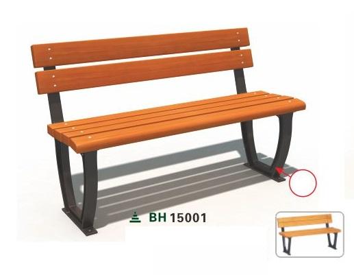 Ghế công viên nhập khẩu BH15001