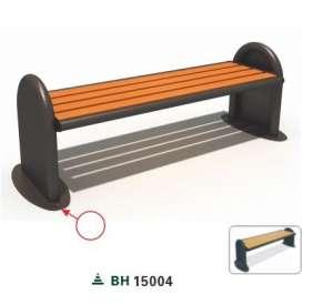 Ghế công viên nhập khẩu BH15004