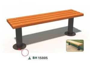 Ghế công viên nhập khẩu BH15005