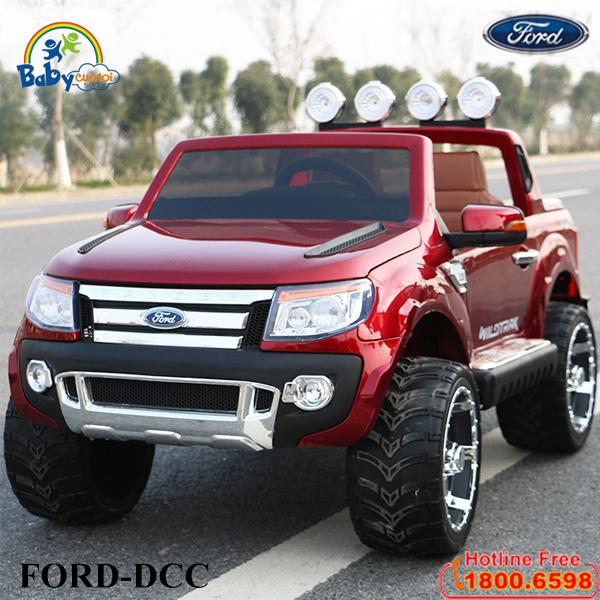Ô tô FORD RANGER bản quyền đỏ mận phun sơn FORD-DCC