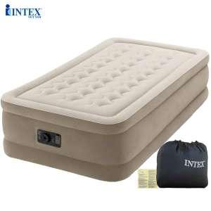 Giường hơi tự phồng cao cấp 99cm Intex 64456