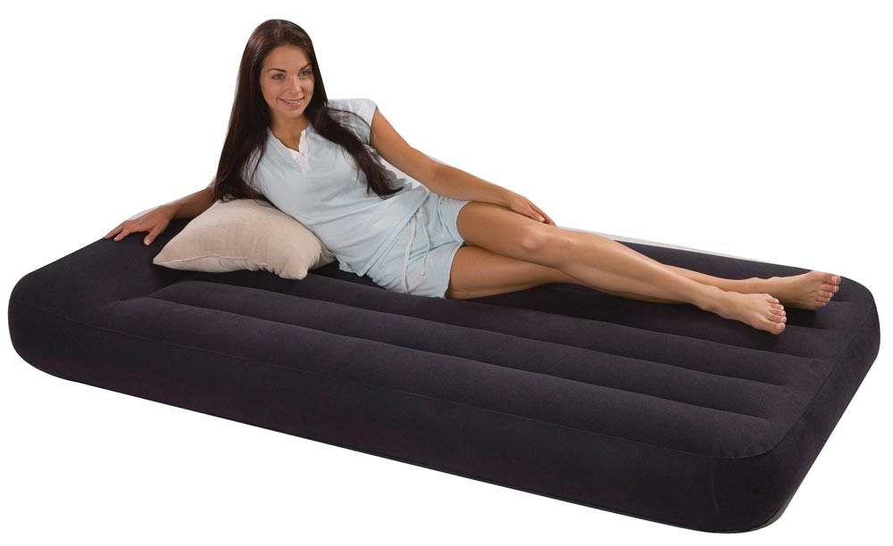 Intex-66779-Pillow-Rest-Classic-Single-Size-Airbed-with-built-in-electric-pump