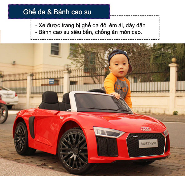 Audi-R8-o-to-dien-tre-em-ban-quyen-cao-cap-do