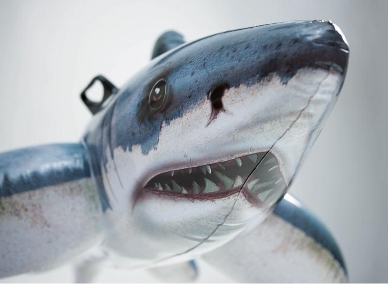 Phao bơi hình cá mập intex 57525