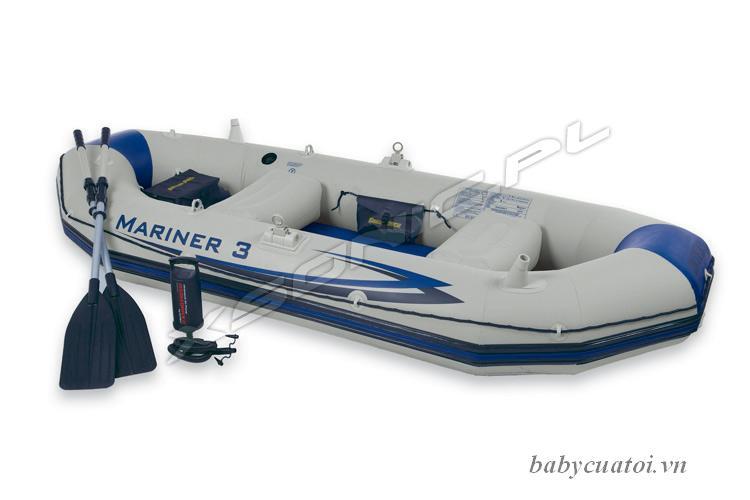 Thuyền bơm hơi MARINER 3 người INTEX 68378