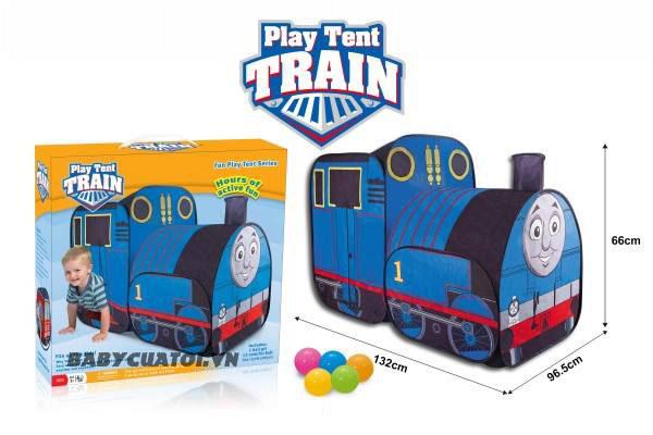 Nhà bóng cho bé 2 khoang tàu hỏa Thomas HF004-A