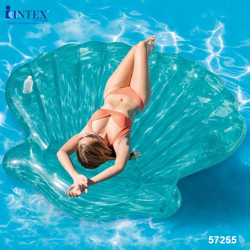 Phao bơi Ngọc Trai khổng lồ intex 57255