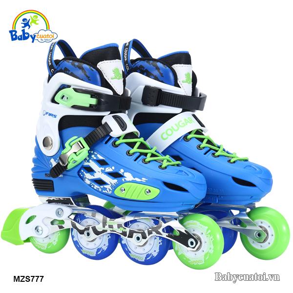 Giày trượt patin chính hãng cougar cao cấp MZS777