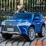 Ô tô điện trẻ em LEXUS bản quyền sơn xanh cao cấp LX570-X