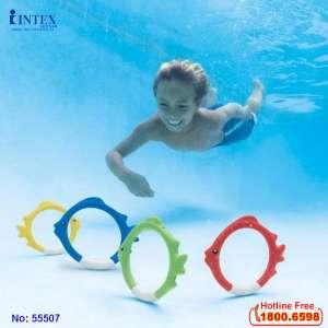 Đồ chơi dưới nước vòng con cá INTEX 55507