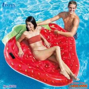 Phao bơi dâu tây khổng lồ INTEX 58781