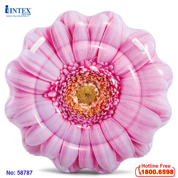 Phao bơi hoa cúc hồng khổng lồ INTEX 58787