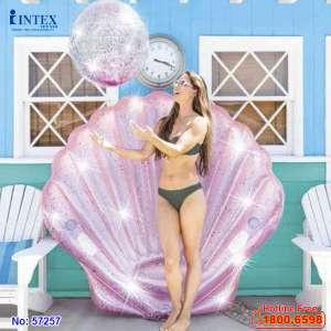 Phao bơi ngọc trai kim tuyết khổng lồ INTEX 57257