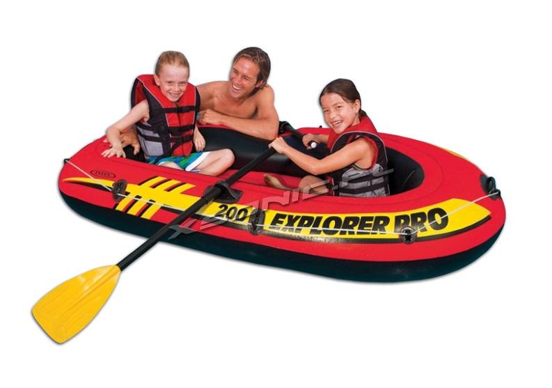 Thuyền bơm hơi trẻ em EXPLORER PRO 200 INTEX 58357