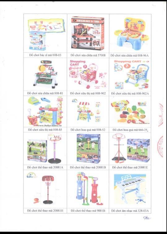 Bộ đồ chơi Siêu thị Mini cao cấp 008-85