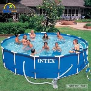 Bể bơi khung kim loại 457*84cm INTEX 28228