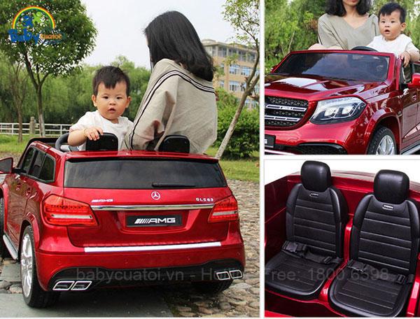 Xe ô tô điện trẻ em Mercedes GLS 63 AMG