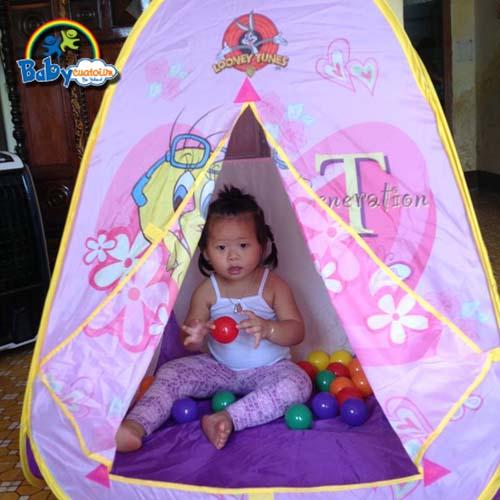 nha bong leu bong Bé Nguyễn Trà Giang 4