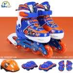 Bộ giày trượt patin gồm mũ và bảo vệ Thần Sấm VCB61037-LS8