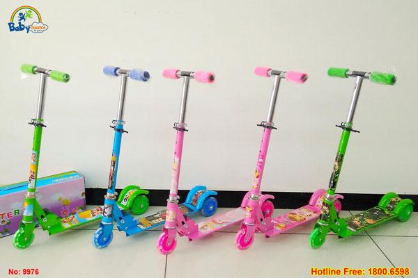 xe trượt scooter cho bé 9976